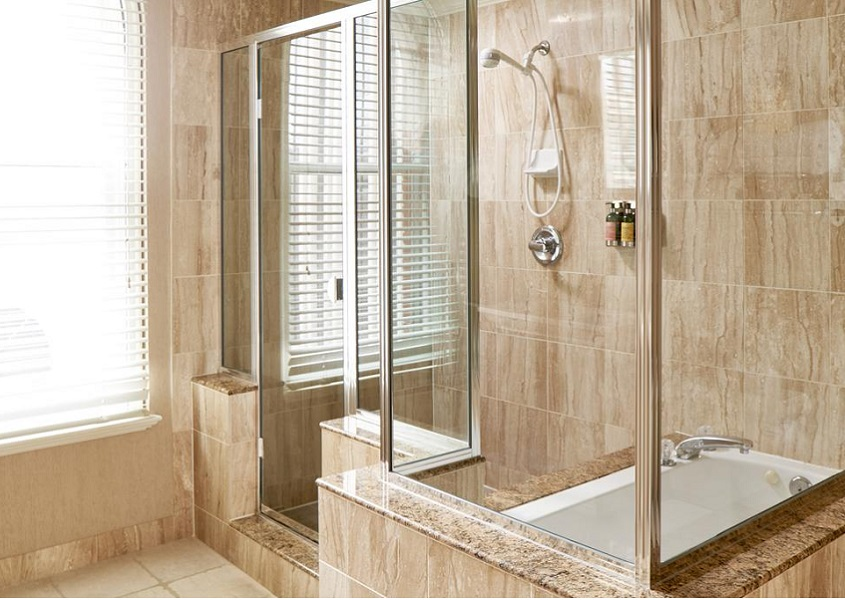 Stilbaai Glas Aluminium Framed Showers