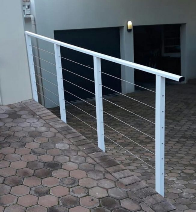 Stilbaai Glas Aluminium Handrails